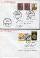 1968 Austria Germany Lufthansa First Flight Covers(2) Stuttgart / Wien - [7] République Fédérale
