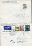 1964 Libya Germany Lufthansa First Flight Covers(2) Bengasi / Frankfurt - Libya