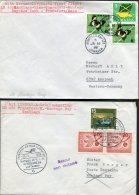 1966 Jamaica Germany Lufthansa First Flight Covers(2) Montego Bay / Frankfurt - Jamaica (1962-...)