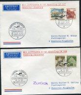 1967 Germany Lufthansa First Flight Covers(2) Hannover / Hamburg - [7] République Fédérale