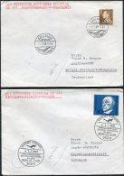 1968 Denmark Germany Lufthansa First Flight Covers(2) Copenhagen / Stuttgart - Poste Aérienne