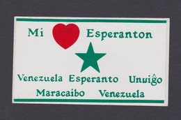 (EGl) Label - Glumarko - Esperanto - Venezuelo - Venezuela - Esperanto