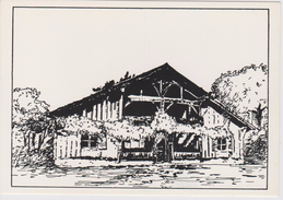 (AKE 119) Esperanto Card From France - House In Gascony - Domo En Gaskonio - 1983 - Esperanto