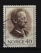 NORWEGEN - Mi-Nr. 613 Georg Ossian Sars (1837-1927) Gestempelt - Norwegen
