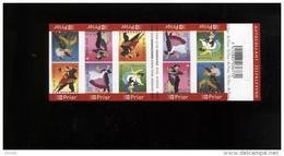 Belgie Boekje Carnet 2006 B68 Dances Dansen Danses - Carnets 1953-....