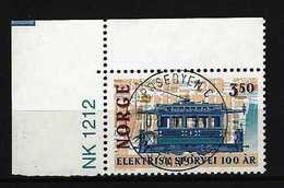 NORWEGEN - Mi-Nr. 1163 - 100 Jahre Elektrische Straßenbahnen In Norwegen Gestempelt - Norwegen