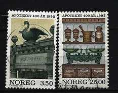 NORWEGEN - Mi-Nr. 1172 - 1173 - 400 Jahre Apotheken In Norwegen Gestempelt - Norwegen
