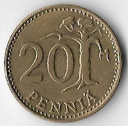 Finland 1977 20 Pennia [C371/1D] - Finland