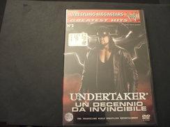 WRESTLING MEGASTARS . DVD VIDEO - N. 2 UNDERTAKER UN DECENNIO DA INVINCIBILE - NUOVO - Wrestling