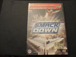 WRESTLING MEGASTARS . DVD VIDEO - N. 3 SMACK DOWN W I MATCH LEGGENDARI DI - NUOVO - Lutte (Wrestling)
