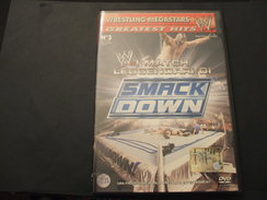 WRESTLING MEGASTARS . DVD VIDEO - N. 3 SMACK DOWN W I MATCH LEGGENDARI DI - NUOVO - Wrestling