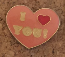 COEUR I LOVE YOU - Badges