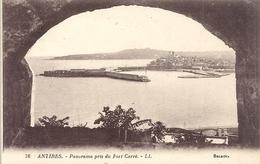 76. ANTIBES . PANORAMA PRIS DU FORT CARRE - NON ECRITE - Antibes