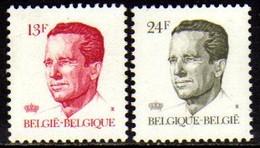 01523 Bélgica 2202/03 Rei Baudouin Nnn