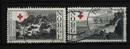 NORWEGEN - Mi-Nr. 530 - 531 - 100 Jahre Norwegisches Rotes Kreuz Gestempelt - Gebraucht