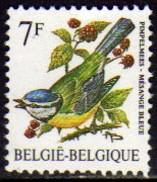 01642 Bélgica 2461 Passaros E Frutos Nnn