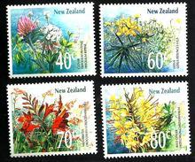 NEW ZEALAND  FLOWERS FLORA SET OF 4 40-80 CENTS MINTNH 1989 SG1457-60 READ DESCRIPTION !! - Nouvelle-Zélande