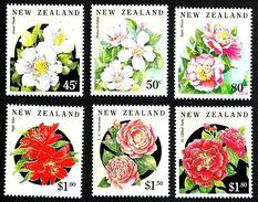 NEW ZEALAND  FLOWERS FLORA SET OF 6 45 CENTS -$1.80  MINTNH 1992 SG1681-86 READ DESCRIPTION !! - Nouvelle-Zélande