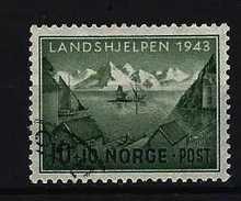 NORWEGEN - Mi-Nr. 292 Norwegische Landeshilfe Gestempelt
