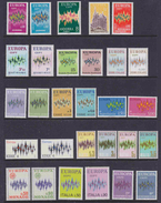 Europa Cept 1972 Year Set 22 Countries  (see Scan)  ** Mnh (35477) - 1972