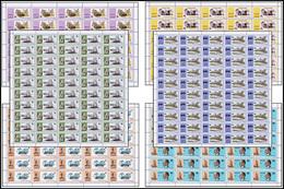 Rwanda 0586/91**  Marconi  - Feuilles / Sheet De 30 Et 50 MNH - Rwanda
