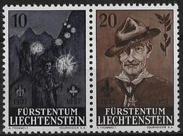 Liechtenstein N° 322-323** - Liechtenstein