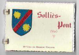 Dép 83 - Sollies Pont - Petit Carnet à Spirale 10 Petites Vues - Bon état - Sollies Pont
