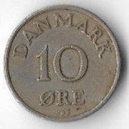 Denmark 1955 10ø [C380/1D] - Denmark
