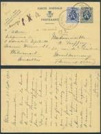 AM384 Entier De Watermael à Montmerency France 1932 Affranchissement Complémentaire - Ganzsachen