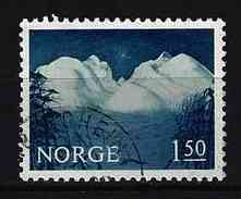 NORWEGEN - Mi-Nr. 536 Landschaft Im Rondane; Gemälde Von Harald Sohlberg (1869-1935) Gestempelt - Norwegen