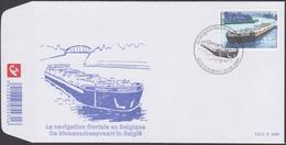 3880 - Binnenscheepvaart In België / La Navigation Fluviale En Belgique - O - FDC