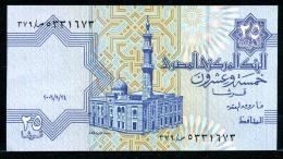 329-Egypte Billet De 25 Piastres 2006 - Egipto