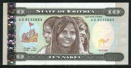 280-Erythrée Billt De 10 Nafka 1997 AD823 Neuf - Eritrea
