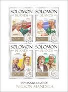 SOLOMON ISLANDS 2013 SHEET NELSON MANDELA NOBEL PRIZE Slm13811a - Solomon Islands (1978-...)