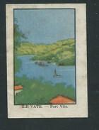 Chromo Océanie Ile Vate Port Villa Chocolat Annecy RRR  1936 Bien/TB ! Colonies Françaises - Chocolat
