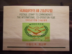 ZUID KOREA BLOC 100 Xx ( YVERT ) COTE : 5.50  EURO ( E ) - Corée Du Sud