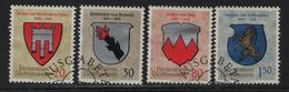 1964 Wappen I 375-378 440-443 O ET