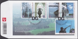 3874/3878 - Bl 165 - De Duitstalige Gemeenschap / La Communauté Germanphone  - O - FDC