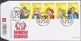 3775/3779 - Bl 154 - Robbedoes / Spirou - O - FDC