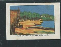 Chromo Océanie Iles Loyalty Vue à Ourpének Chocolat Annecy RRR  1936 Bien/TB ! Colonies Françaises - Chocolat