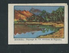 Chromo Océanie Tahiti Mooréa Environs De Papeete Chocolat Annecy RRR  1936 Bien/TB ! Colonies Françaises - Chocolat