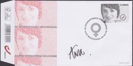4404 - Vrouwendag / Journée De La Femme - Met Handtekening Ontwerpster / Avec Signature De Créateur - O - FDC