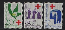1963 Rotes Kreuz 365-367 428-430 O