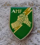 Distintivo Vetrificato AMF - Nato Allied Mobile Force - Alpini - ESERCITO ITALIANO - Heer