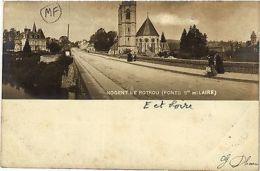 CPA  Nogent-le-Rotrou - Pont S Hilaire  (385906) - France