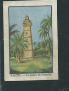 Chromo Océanie Tahiti Le Phare De Papeete Chocolat Annecy RRR  1936 Bien/TB ! Colonies Françaises - Chocolat