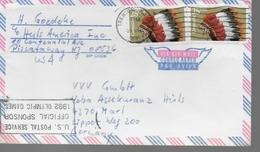 USA  Lettre Coiffe Indiens - American Indians