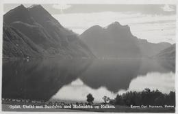 OPDOL. UTSIKT Mot Sundalen → Med Hofsnebba Og Kalken, Ca.1950 - Suède