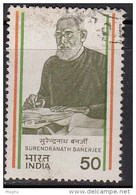 India Used 1983, Surendrarnath Banerjee,   (sample Image) - Oblitérés