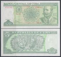 2011-BK-100 CUBA 5$ 2011 ANTONIO MACEO. UNC - Cuba